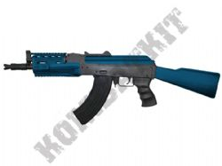 SRC SR47C Sportline AK47 Airsoft Rifle Electric AEG BB Machine Gun Black & 2 Tone